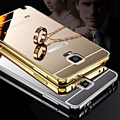 For Samsung Galaxy Note Plating / Mirror Case Back Cover Case Solid Color Metal Samsung Note 5 / Note 4