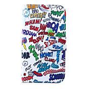 용 삼성 갤럭시 케이스 지갑 / 카드 홀더 / 스탠드 / 플립 케이스 풀 바디 케이스 단어 / 문구 인조 가죽 Samsung S5 Mini / S5 / S4 Mini / S4 / S3 Mini / S3