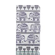 용 삼성 갤럭시 케이스 지갑 / 카드 홀더 / 스탠드 / 플립 케이스 풀 바디 케이스 코끼리 인조 가죽 Samsung S6 edge / S6 / S5 Mini / S5