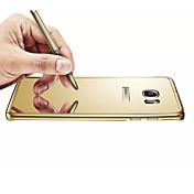 Para Funda Samsung Galaxy Espejo Funda Cubierta Trasera Funda Un Color Policarbonato Samsung S6 edge plus / S6 edge / S6