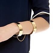 여성 빈티지 팔찌 패션 조절 가능 열린 유럽의 합금 골든 보석류 용 캐쥬얼 1PC