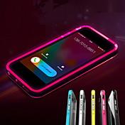 Para Funda iPhone 7 / Funda iPhone 7 Plus / Funda iPhone 5 Linterna LED / Transparente Funda Cubierta Trasera Funda Un Color Suave TPU