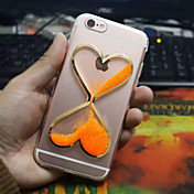 Para Funda iPhone 6 / Funda iPhone 6 Plus Líquido Funda Cubierta Trasera Funda Dibujo 3D Suave TPU iPhone 6s Plus/6 Plus / iPhone 6s/6
