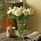 실크 로투스 / Camellia 인공 꽃