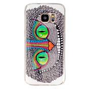 Owl eyes Pattern TPU Soft Case for Galaxy S7 Edge/Galaxy S7