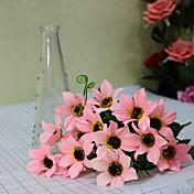 Poliéster Crisantemo Flores Artificiales