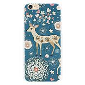 ciervos diamante cáscara del teléfono pintado relieves para iPhone6 / 6s