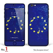"""아이폰 6 / 기가 바디 아트 피부 스티커 """"유럽 연합 (EU), 유럽 연합, 아일랜드, 폴란드, 네덜란드, 네덜란드""""(플래그 시리즈)"""