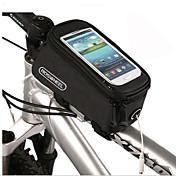 자전거 가방 1.5LL자전거 프레임 백 미끄럼 방지 / 다기능 / 터치 스크린 싸이클 가방 PVC / Terylene 싸이클 백 다른 유사한 크기의 전화 사이클링 20*10*9cm