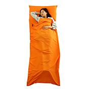 가방 라이너 자 침낭 직사각형 침낭 싱글 20-25 폴리에스테르X75 피싱 하이킹 캠핑 여행 야외 실내 따뜨하게 유지 방수 먼지 방지