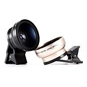 37mm lente de gran angular de clip universal para el teléfono de la fotografía iphone 4 5 6 samsung androide
