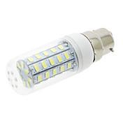 E14 G9 GU10 B22 E12 E26 E26/E27 LED 콘 조명 T 48 SMD 5730 600 lm 따뜻한 화이트 차가운 화이트 AC 85-265 V 1개