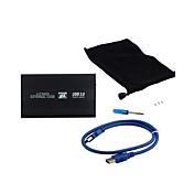 USB 3.0 하드 디스크 하드 드라이브 외부 인클로저 2.5 인치 SATA 하드 디스크 케이스 상자