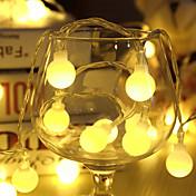 10m가 80led 볼 AC220V 휴일 장식 램프 축제와 문자열 조명을 주도 크리스마스 야외 조명 조명