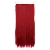 칩 컬링 헤어 스트레이트 헤어의 약 (컬러 118C)를 수신 붉은 길이 70cm의 합성