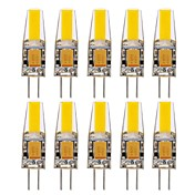 10pcs g4 1505 de la mazorca 1.5w 150-200lm caliente / fresco / natural blanco decorativo llevado bi-pin luces