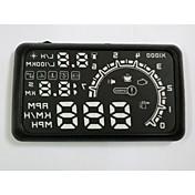 HUD 디스플레이 자동차 HUD 헤드 업 디스플레이 자동차 HUD 자동차 스타일링 과속 경보 시스템 양질 5.5 인치 OBD2 인터페이스