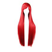 cosplay peluca Pelucas para mujeres Rojo Las pelucas del traje Pelucas de Cosplay