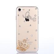 용 아이폰7케이스 아이폰7플러스 케이스 아이폰6케이스 케이스 커버 크리스탈 뒷면 커버 케이스 심장 하드 PC 용 Apple아이폰 7 플러스 아이폰 (7) iPhone 6s Plus iPhone 6 Plus iPhone 6s 아이폰 6 iPhone