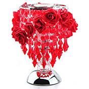1 개 향기로운 장미 에센셜 오일 향기 램프 여자 친구 크리스마스 선물을 유도