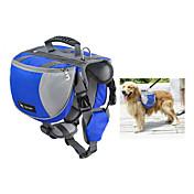 강아지 개 팩 애완동물 캐리어 방수 휴대용 오렌지 레드 블루 블랙