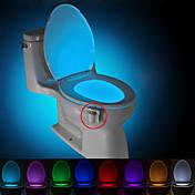 brelong activado por movimiento de luz nocturna aseo llevó aseo baño lavadero luz