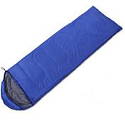 침낭 직사각형 침낭 싱글 10 중공 코튼 400g 180X30 하이킹 캠핑 여행 야외 실내 수분 방지 방수 호흡 능력 직사각형 폴더 휴대용