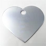 애완 동물을위한 개인화 된 양극 처리 된 알루미늄 개 ID 이름 태그 (모듬 색상)