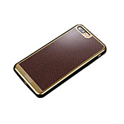 용 Other 케이스 뒷면 커버 케이스 기하학 패턴 소프트 탄소 섬유 용 Apple 아이폰 7 플러스 아이폰 (7) iPhone 6s Plus/6 Plus iPhone 6s/6