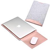 Mangas para MacBook Pro 15 Pulgadas MacBook Air 13 Pulgadas MacBook Pro 13 Pulgadas MacBook Air 11 Pulgadas Macbook Color sólidoCuero