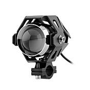 12v U5 llevó la lámpara de luz de carretera proyector de luz de los faros de niebla para el carro del coche motocicleta con encendido y