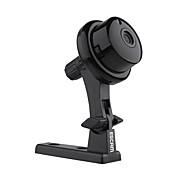 escam® 양방향 오디오 128g의 TF 모션 감지 듀얼 스트림 IR 컷의 IP 카메라와 1.0 MP 미니 실내 버튼 Q6