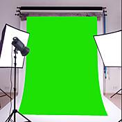 3x5ft 녹색 얇은 비닐 촬영 배경 스튜디오 소품 사진 배경