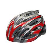 스포츠 남여 공용 자전거 헬멧 28 통풍구 싸이클링 사이클링 산악 사이클링 도로 사이클링 레크리에이션 사이클링 하이킹 클라이밍 PC EPS 화이트 레드 블루