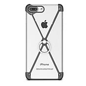용 스탠드 링 홀더 케이스 범퍼 케이스 단색 하드 알루미늄 용 Apple 아이폰 7 플러스 아이폰 (7) iPhone 6s Plus/6 Plus iPhone 6s/6