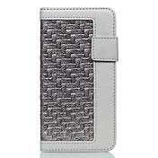 용 카드 홀더 방진 스탠드 케이스 풀 바디 케이스 단색 하드 인조 가죽 용 Apple 아이폰 7 플러스 아이폰 (7)