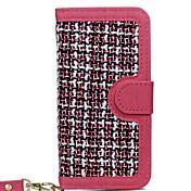 용 카드 홀더 방진 스탠드 케이스 풀 바디 케이스 단색 하드 텍스타일 용 Apple 아이폰 7 플러스 아이폰 (7) iPhone 6s Plus/6 Plus iPhone 6s/6