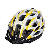 스포츠 남여 공용 자전거 헬멧 28 통풍구 싸이클링 사이클링 산악 사이클링 도로 사이클링 레크리에이션 사이클링 PC EPS 옐로우 레드 블루 퍼플