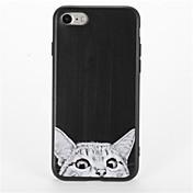 용 패턴 케이스 뒷면 커버 케이스 고양이 소프트 TPU 용 Apple 아이폰 7 플러스 아이폰 (7) iPhone 6s Plus iPhone 6 Plus iPhone 6s 아이폰 6
