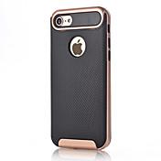 For Apple iPhone 7 Plus 7 Case Cover Shockproof Back Cover Solid Color Hard Carbon Fiber 6s Plus 6 Plus 6s 6