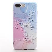 Para Diseños Funda Cubierta Trasera Funda Gradiente de Color Suave TPU para Apple iPhone 7 Plus iPhone 7