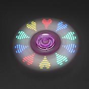 피젯 스피너 핸드 스피너 장난감 트라이 스피너 LED 회 전자 메탈 플라스틱 EDC 스트레스와 불안 완화 오피스 데스크 완구 살생 시간 초점 장난감 ADD, ADHD, 불안, 자폐증 완화 LED 조명 노블티&개그 장난감