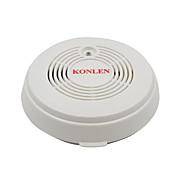 Detector de monóxido de carbono y detector de humo de fuego alarma de alarma 2 en 1