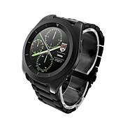 g6 mtk2502 울트라 씬 스크린 속도 단계 심박수 모니터링 메탈 스트랩 블루투스 smartwatch for android&아이오