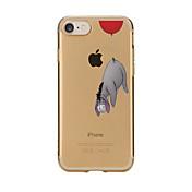 제품 케이스 커버 투명 패턴 뒷면 커버 케이스 카툰 소프트 TPU 용 Apple아이폰 7 플러스 아이폰 (7) iPhone 6s Plus iPhone 6 Plus iPhone 6s 아이폰 6 iPhone SE/5s iPhone 5 iPhone