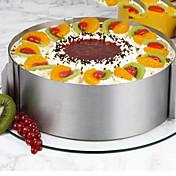26Piezas / Juego Moldes para pasteles Redondo Novedad Para utensilios de cocina para la torta Acero Inoxidable AceroMúltiples Funciones