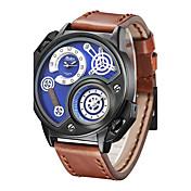 Hombre Reloj Deportivo Reloj de Moda Reloj de Pulsera Reloj creativo único Reloj Casual Chino CuarzoCompass Calendario Resistente al Agua