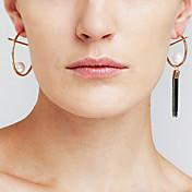 Mujer Pendientes Set Perla artificial Moda Personalizado No coincide Cobre Forma de Círculo Joyas ParaEvento/Fiesta Uso Diario Fiesta de