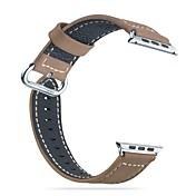 Hoco para la serie watch1 de la manzana& Series2 bandas correa de cuero genuina muñeca reemplazo de la banda 42mm 38mm
