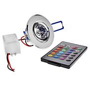 Deckenleuchten Eingebauter Retrofit 1 Hochleistungs - LED 180 lm RGB Ferngesteuert AC 85-265 V